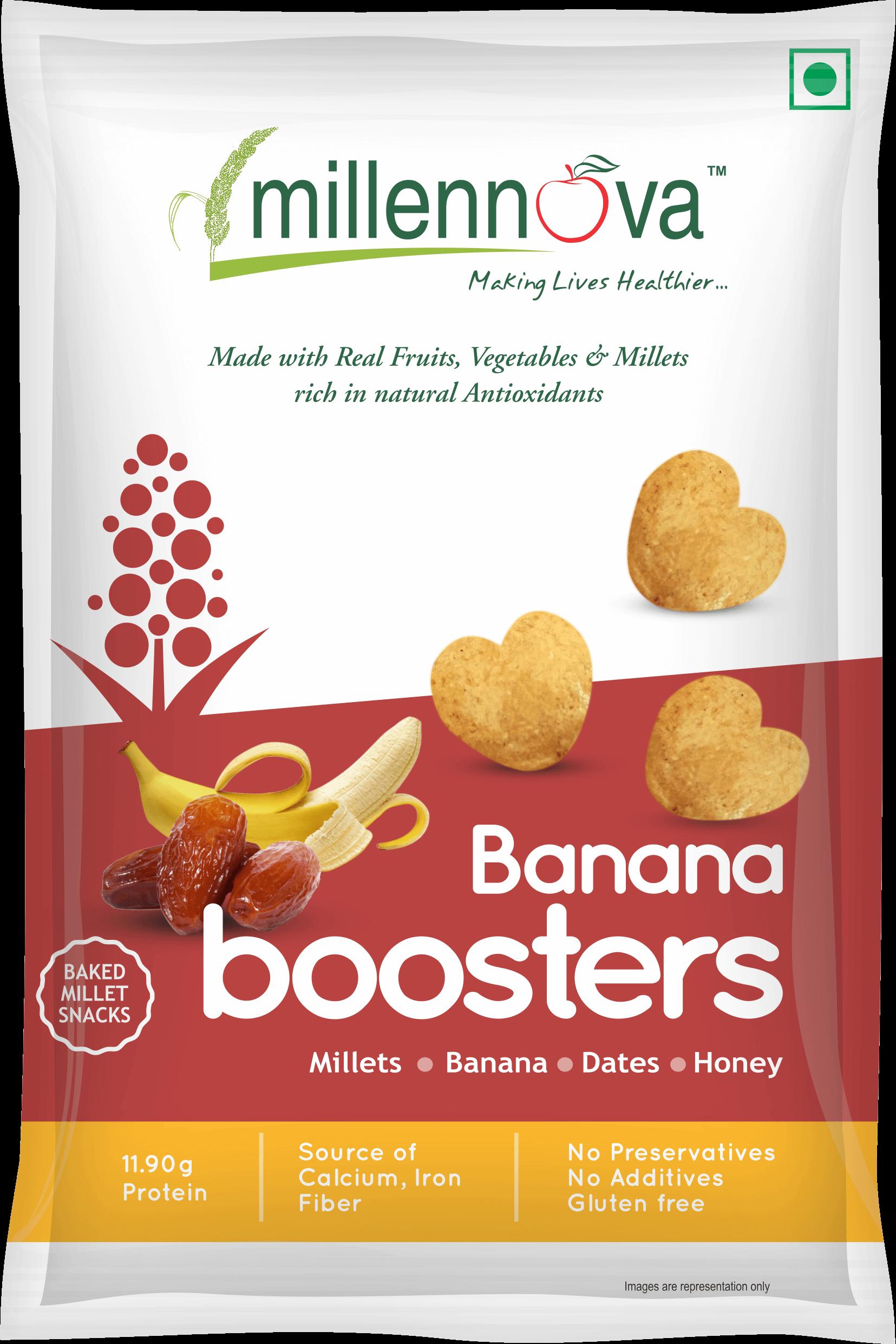 Banana Boosters - Tasty Snack