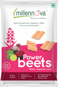 Power Beets – Made with Millets, Beetroots, Lime & Pulses