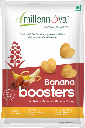 Banana Boosters - Tasty Snack